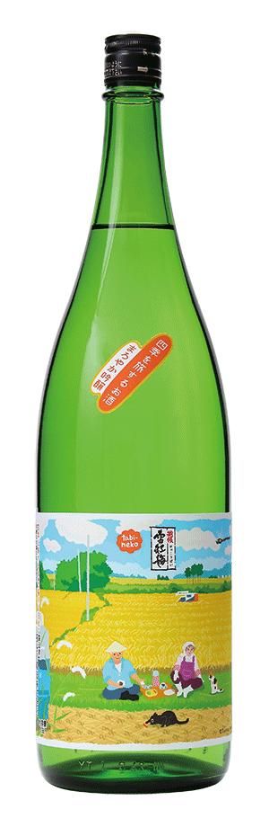 長谷川酒造_雪紅梅_稲刈り日和