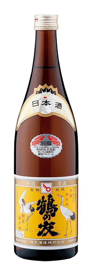 樋木酒造_鶴の友_別選