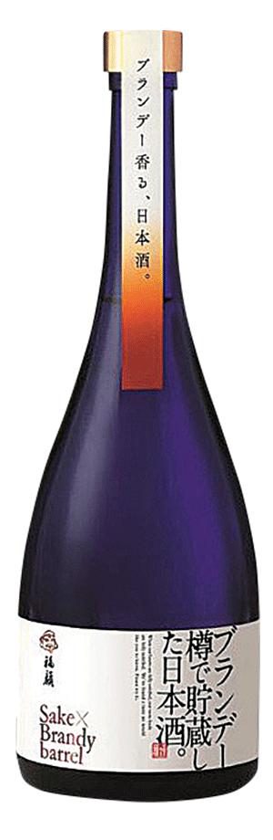 福顔酒造_ブランデー樽で_FUKUGAO